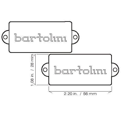 Bartolini P-b sett 8S - gitarist.no on
